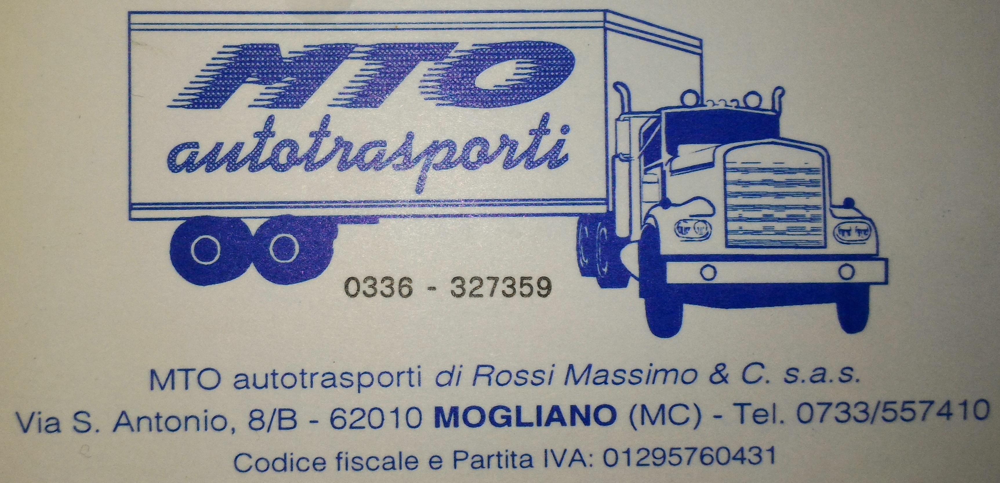 MTO Autotrasporti - sponsor sito