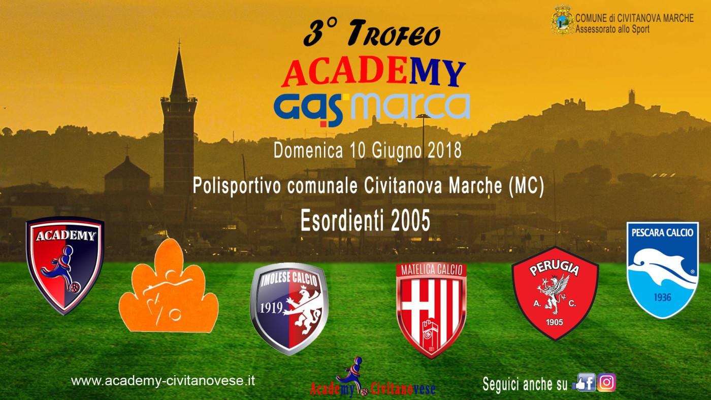 locandina 3° Trofeo Academy-gasmarca