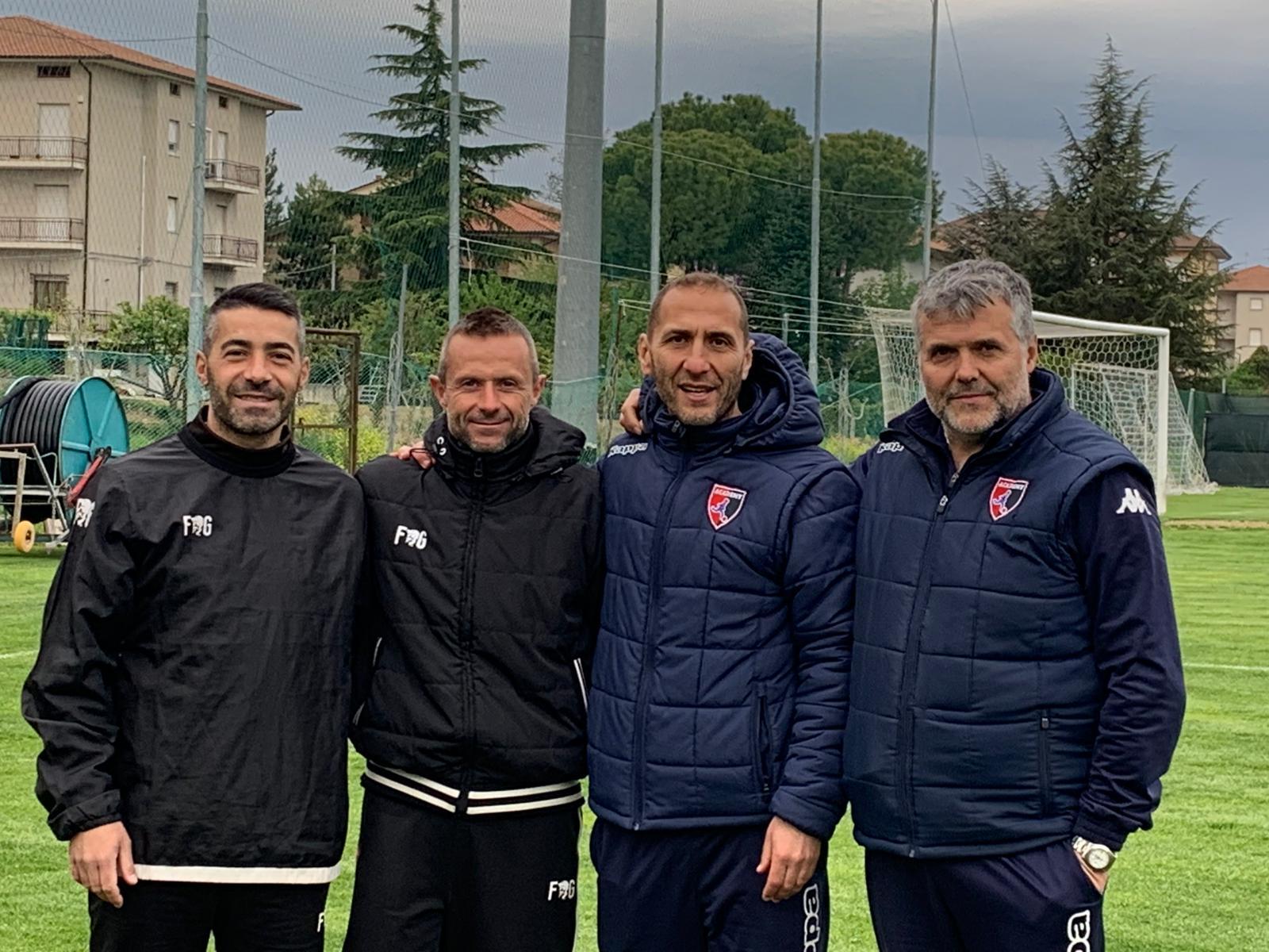 Dirigenti Giovanissimi cadetti - Perugia (Trodica)