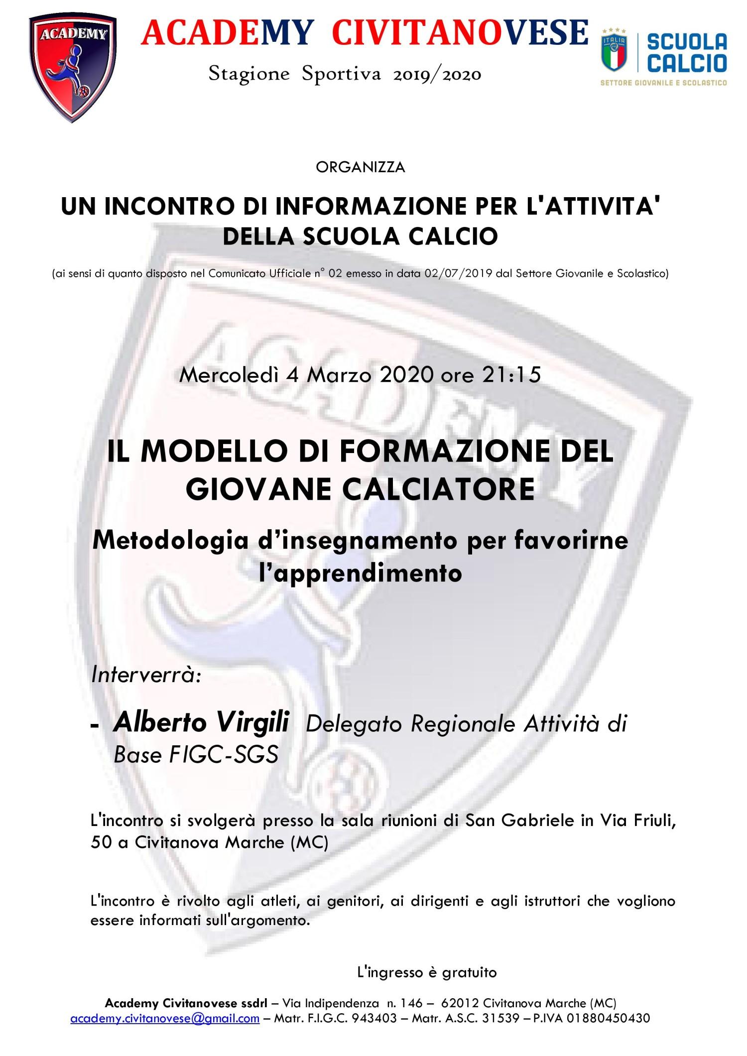 3^ incontro MODELLO FORMAZ 04-03-2020